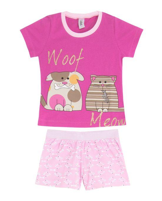 Short-Doll-Infantil-Laibel-Cachorro-e-Gato