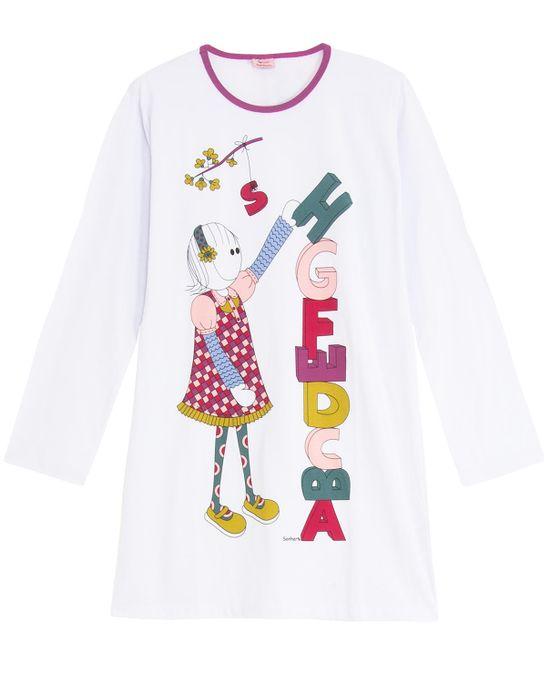 Camisao-Sonhart-Manga-Longa-Alfabeto