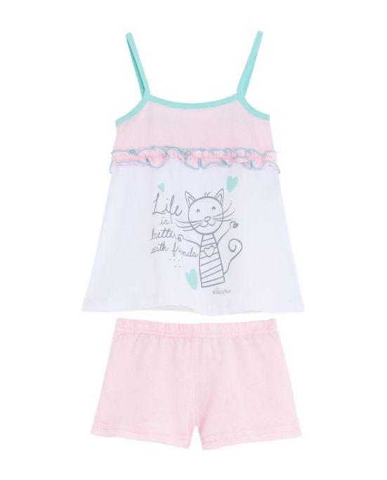 Short-Doll-Infantil-Vincullus-Gato-com-Bolsa