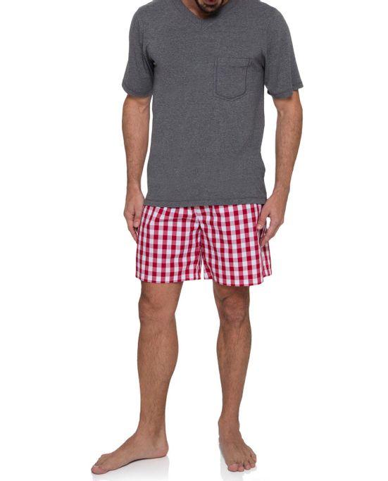 Pijama-Masculino-Joge-Curto-Viscolycra-Mescla