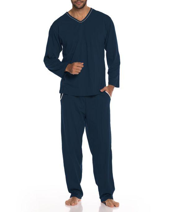 Pijama-Masculino-Longo-Decote-V