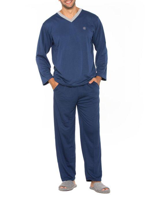 Pijama-Masculino-Podiun-Longo-Aflanelado