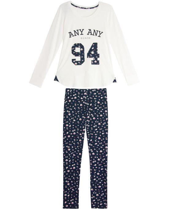 Pijama-Feminino-Any-Any-Longo-Viscolycra-Floral