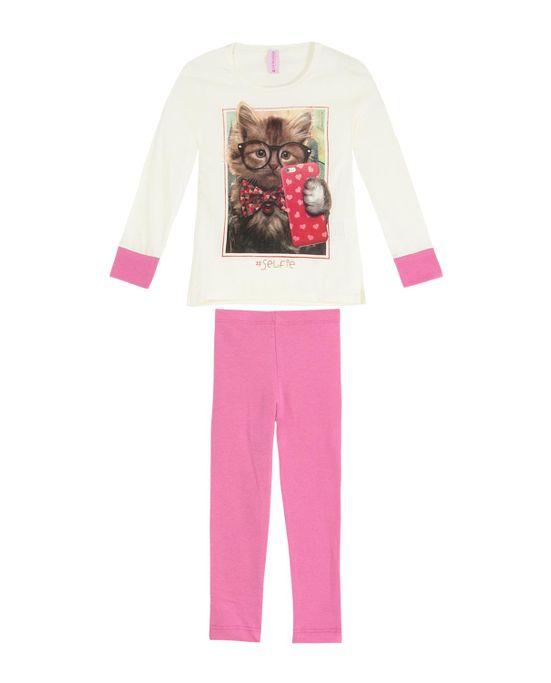 Pijama-Infantil-Feminino-Lua-Encantada-Legging-Gato