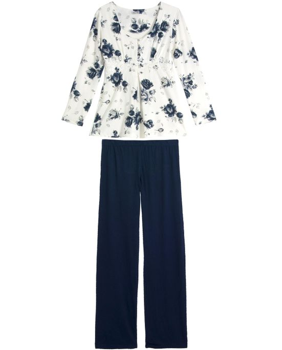 Pijama-Gestante-Any-Any-Longo-Floral