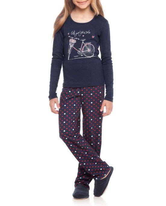 Pijama-Infantil-Feminino-Daniela-Tombini-Longo-Bike