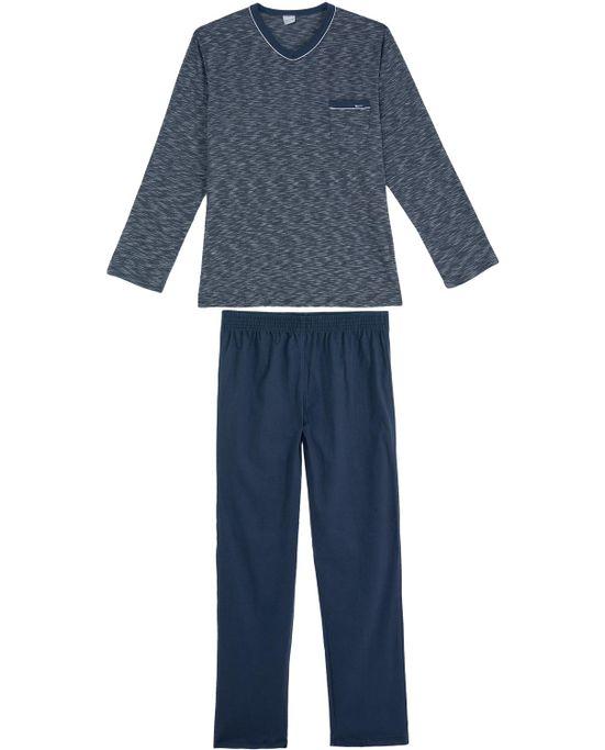 Pijama-Masculino-Recco-Longo-Mescla