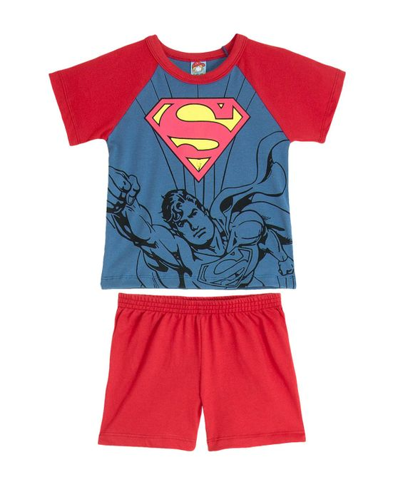 Pijama-Infantil-Masculino-Turma-da-Mel-Superman