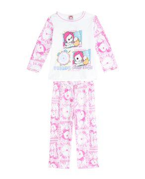 Pijama-Infantil-Feminino-Turma-da-Mel-Longo