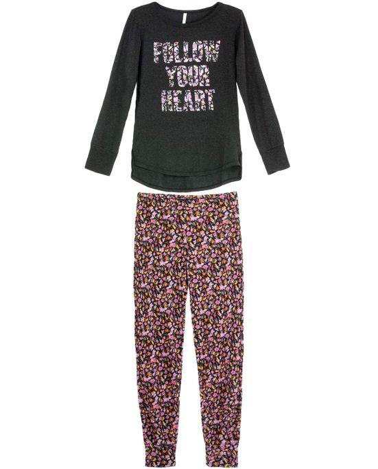 Pijama-Feminino-Joge-Longo-Viscolycra-Flores