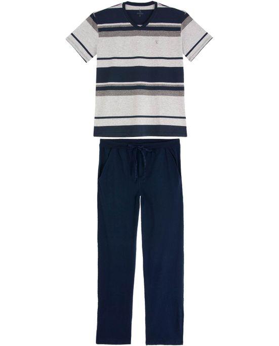 Pijama-Masculino-Lua-Lua-Calca-com-Manga-Curta