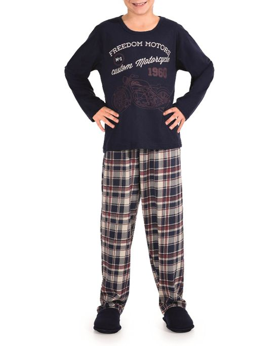 Pijama-Infantil-Masculino-Lua-Encantada-Moto