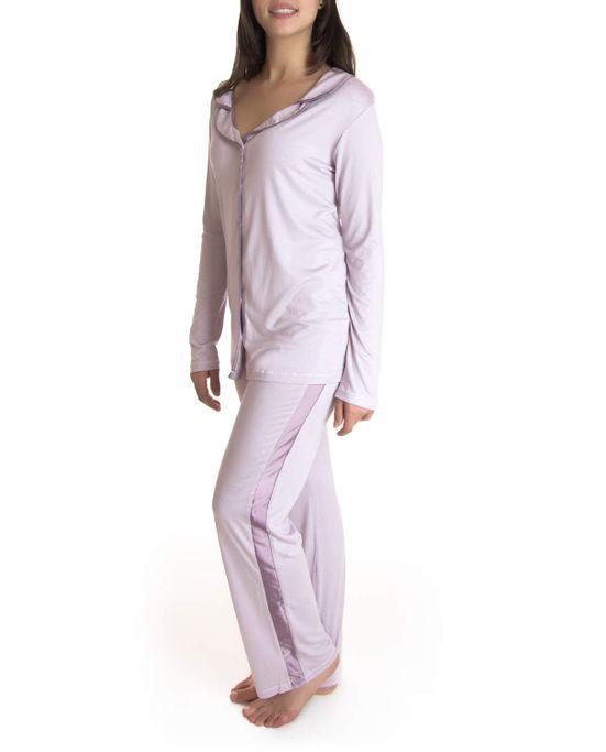 Pijama-Feminino-Joge-Curto-Malha-Folk-Listrado