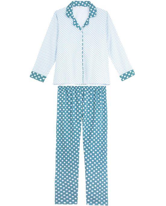 Pijama-Plus-Size-Feminino-Lua-Cheia-Flanela-Aberto