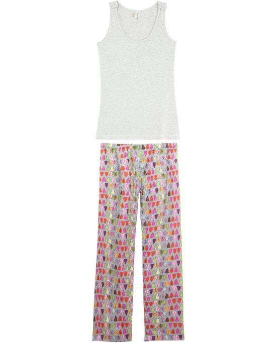 Pijama-Feminino-Joge-Longo-Cetim-com-Regata