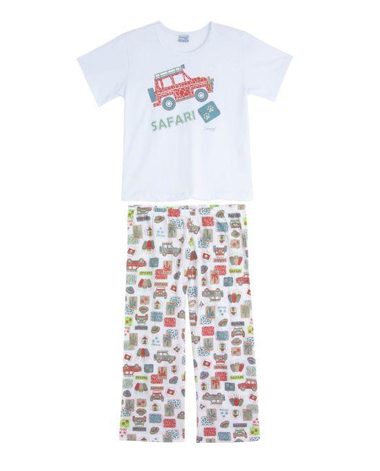 Pijama-Infantil-Masculino-Compose-Longo-Jipe