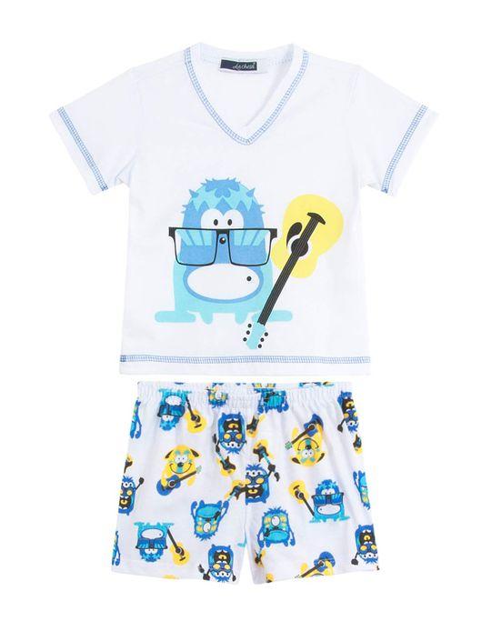 Pijama-Infantil-Masculino-Lua-Cheia-Curto-Violao