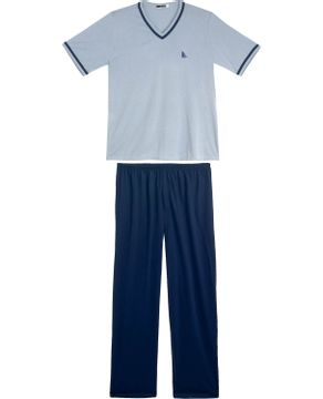 Pijama-Masculino-Lua-Cheia-Longo-Decote-V