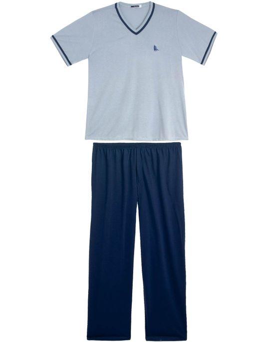 Pijama-Plus-Size-Masculino-Lua-Cheia-Decote-V