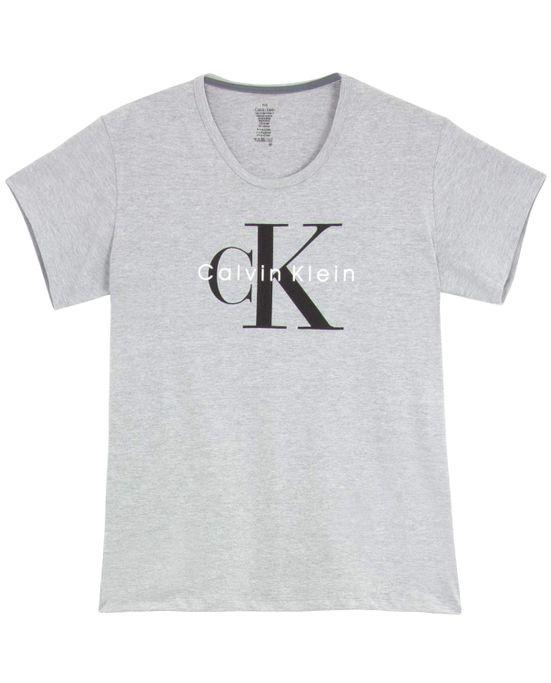 Camiseta-Calvin-Klein-Algodao-Mescla