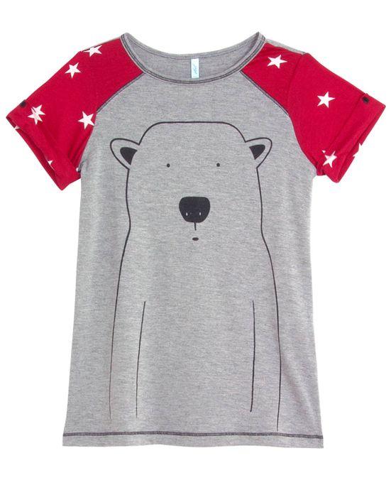 Camisola-Infantil-Joge-Viscolycra-Urso-Polar
