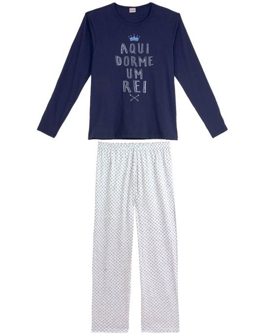 Pijama-Masculino-Lua-Encantada-Longo-Rei
