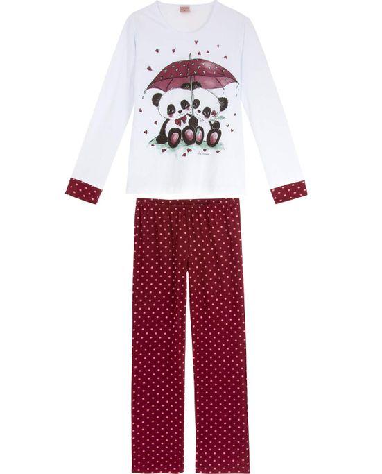 Pijama-Feminino-Lua-Encantada-Longo-Pandas