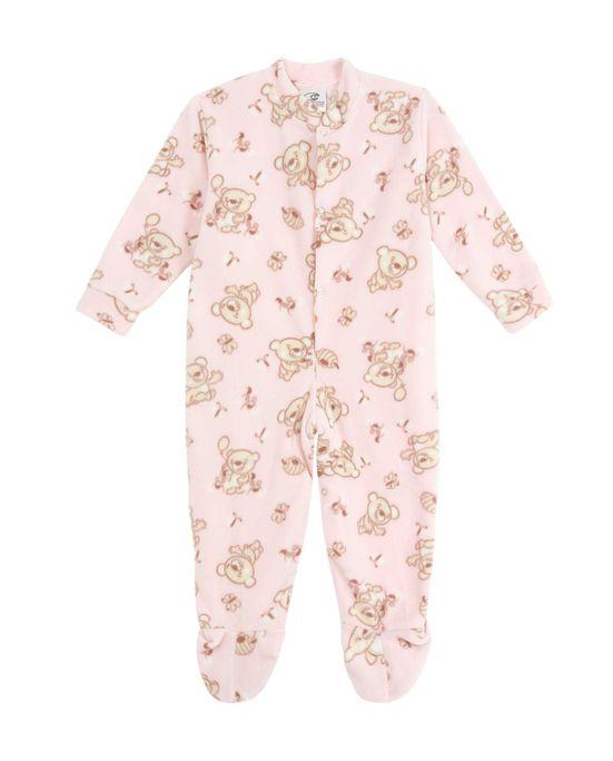a35fb78bcc215a Macacão Infantil com Pé Papa's Wave Soft Ursos   Pijama Online ...