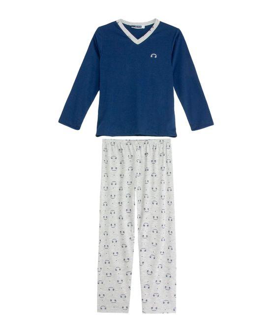 Pijama-Infantil-Masculino-Lua-Cheia-Calca-Fones