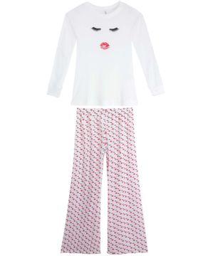 Pijama-Feminino-Joge-Viscose-Calca-Cetim-Cilios
