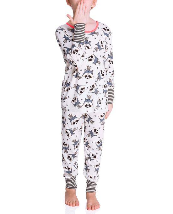 Pijama-Infantil-Feminino-Joge-Viscolycra-Guaxinim