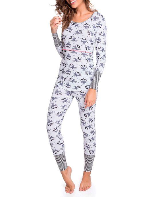 Pijama-Feminino-Joge-Longo-Viscolycra-Guaxinim