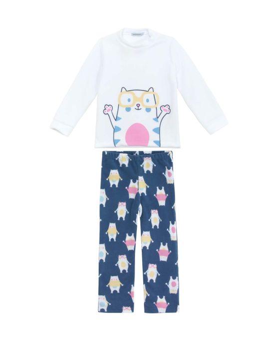 Pijama-Infantil-Feminino-Dedeka-Soft-Gatinho
