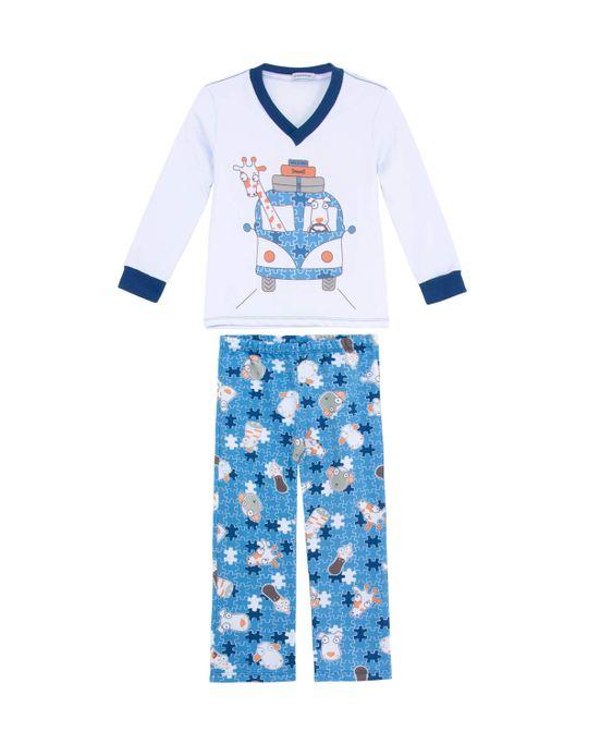 Pijama-Infantil-Masculino-Dedeka-Moletinho-Kombi