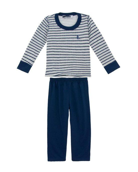 Pijama-Infantil-Masculino-Lua-Cheia-Flanelado-Listras