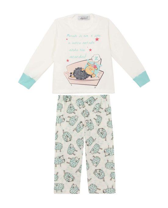 Pijama-Infantil-Feminino-Lua-Cheia-Flanelado-Ovelha