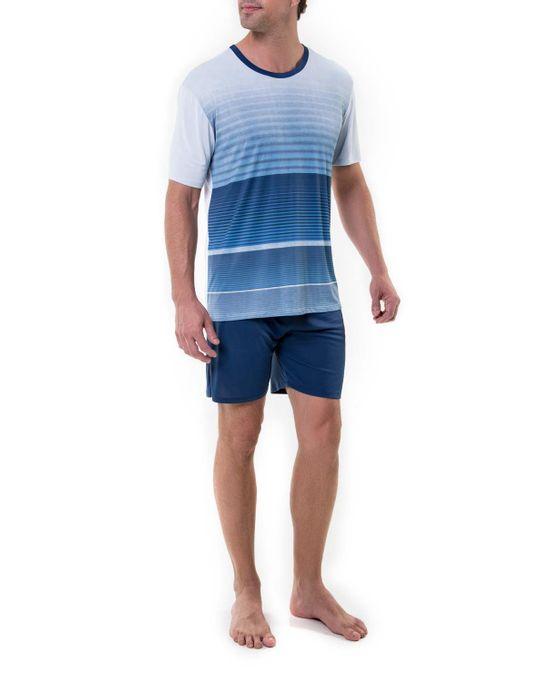 Pijama-Masculino-Recco-Curto-Microfibra-Grize