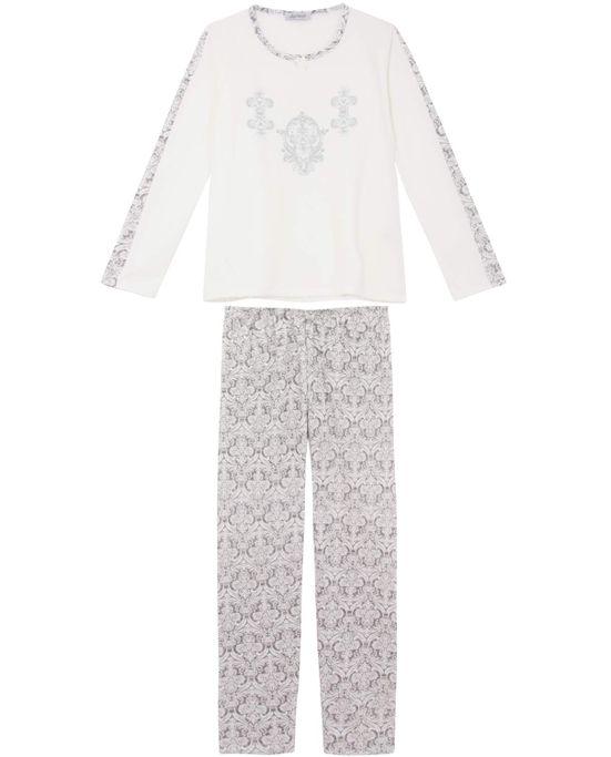 Pijama-Feminino-Lua-Cheia-Longo-Flanelado-Arabesco