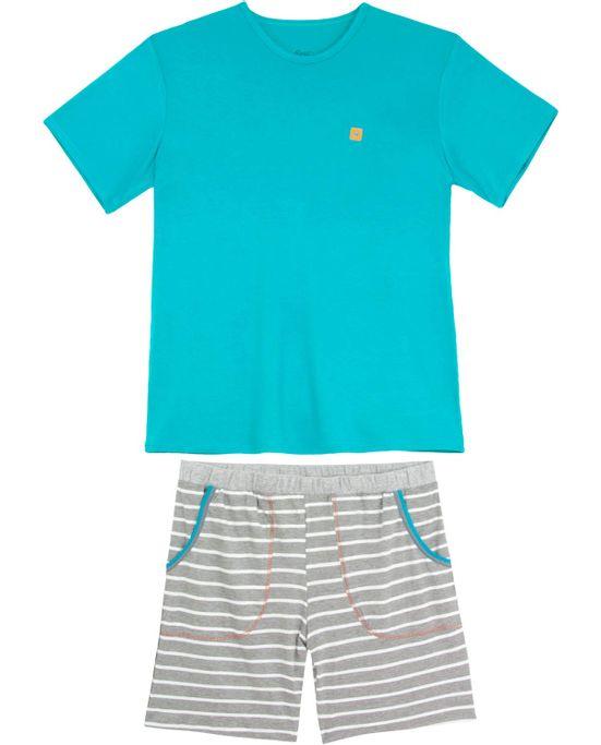Pijama-Masculino-Recco-Viscolycra-Bermuda-Listras