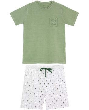 Pijama-Masculino-Lua-Lua-Verao-Algodao-Palmeiras