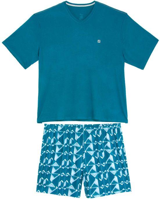 Pijama-Plus-Size-Masculino-Recco-Short-Viscolycra