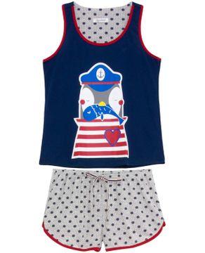 Shortdoll-Lua-Cheia-Regata-Pinguim-Navy