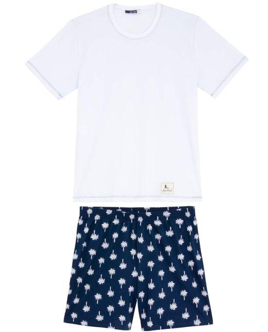 Pijama-Masculino-Lua-Cheia-Bermuda-Coqueiros