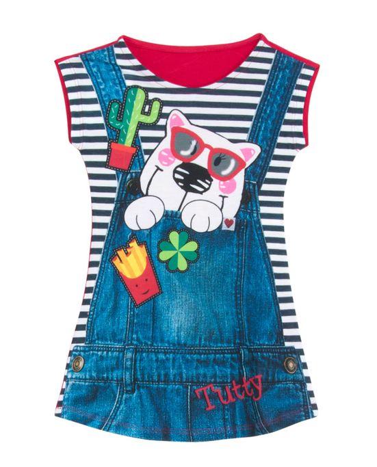 Camisola-Infantil-Recco-Viscolycra-Jardineira-Ana