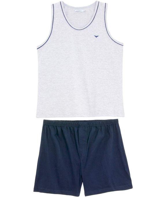 Pijama-Masculino-Podiun-Regata-Algodao