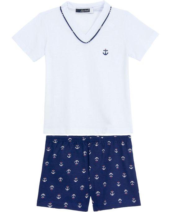09d89c538ed9b5 Pijama Infantil Masculino Homewear Viscolycra Monsters - Pijama Online