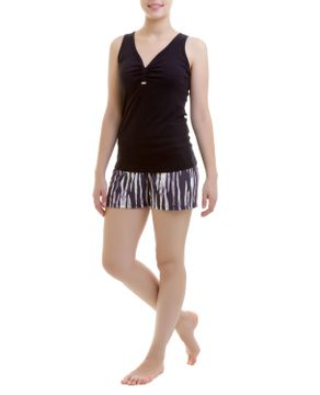 SHORT-DOLL-RECCO-REGATA-ANIMAL-PRINT
