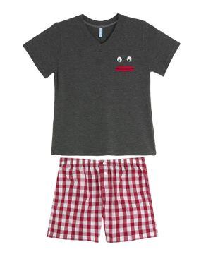 Pijama-Infantil-Masculino-Joge-Curto-Viscolycra-Boca
