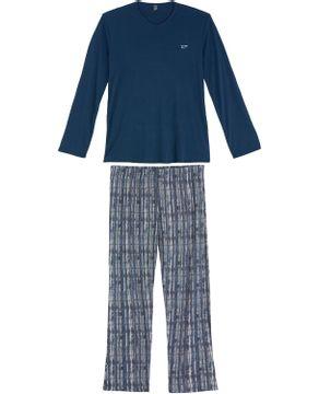 Pijama-Plus-Size-Masculino-Recco-Longo-Microfibra