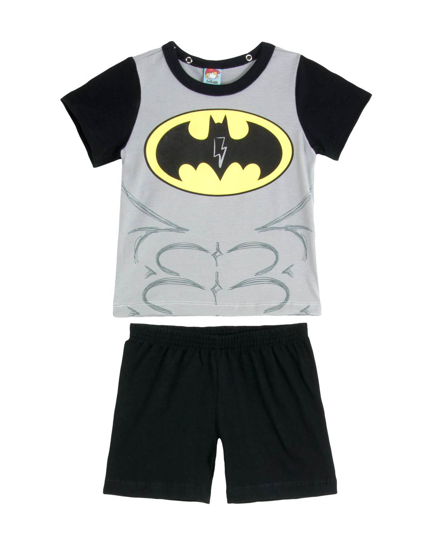 4544df59b5b66f Pijama Infantil Masculino Turma da Mel Batman | Compre na Pijama ...